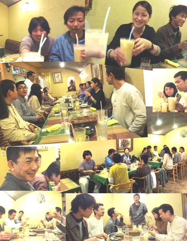 H25.4.23  mokumoku新人スタッフ歓迎会 in ラニさん