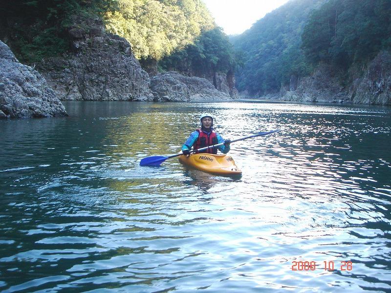 H26.3.8  熊野でカヌーで川下り