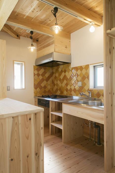 オリジナル造作キッチン。