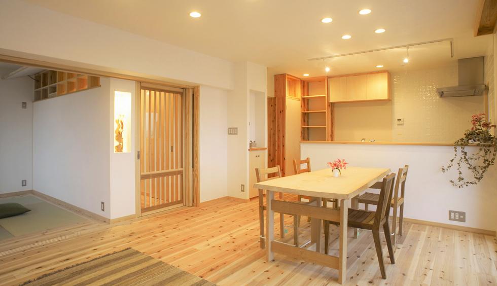 Y様邸(平成22年9月完工・横浜市港北区・マンションリフォーム)