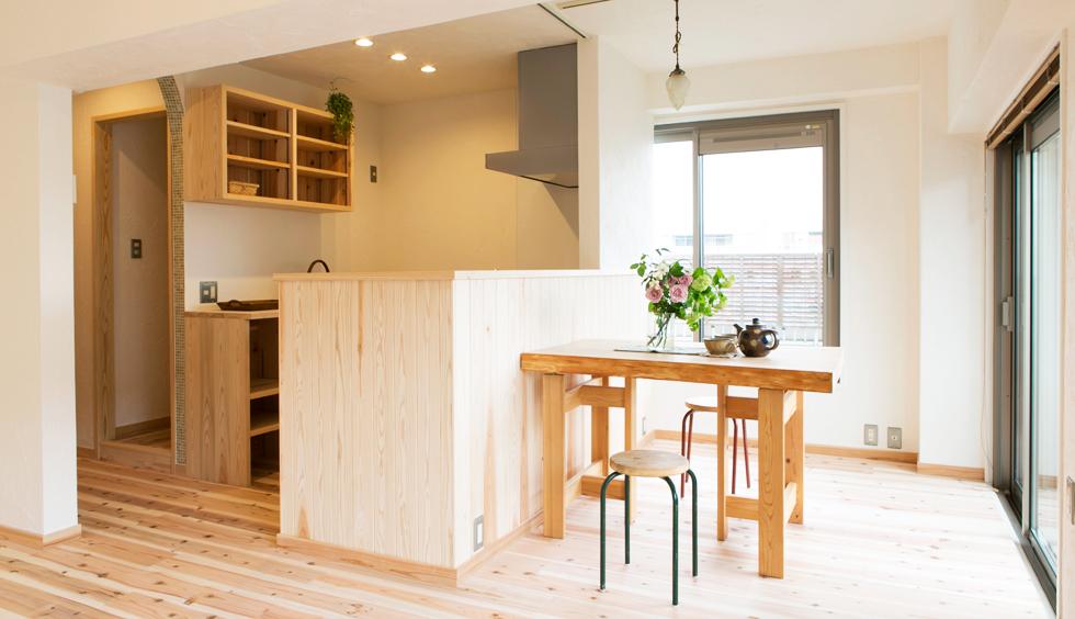 K様邸(平成28年4月完工・横浜市港北区・マンションリフォーム)