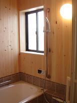 バスルーム檜